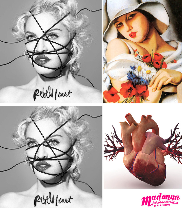 Rebel Heart Artwork