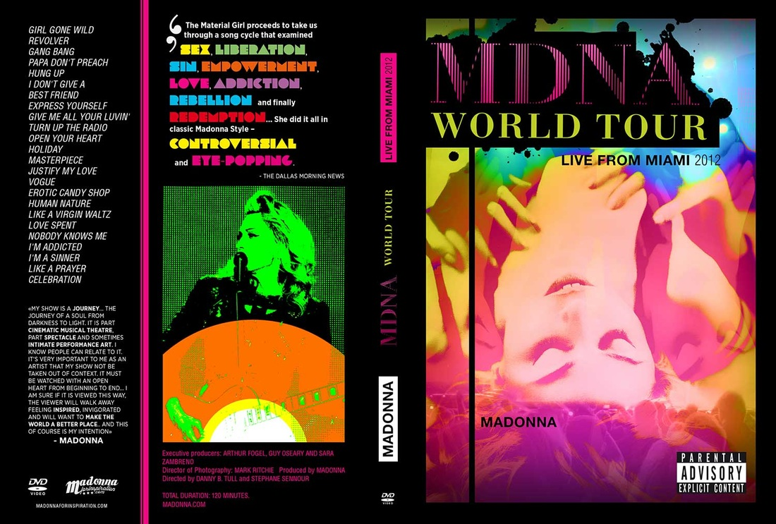 MDNA Tour DVD alternate cover